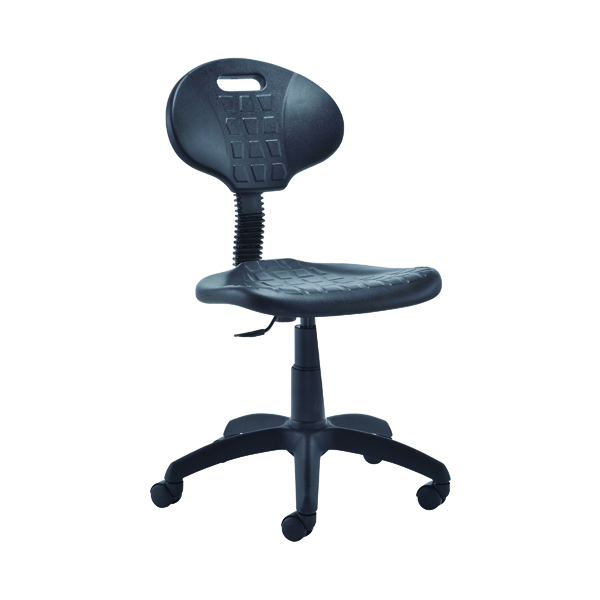 Jemini Factory Chair Polyurethane Black