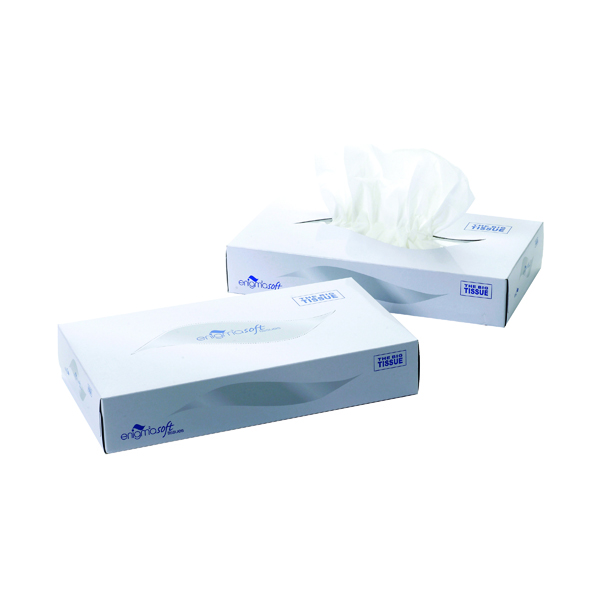 Mansize Facial Tissues Box 100 Sheets (Pack of 24) MSF100