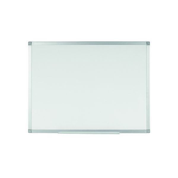 Q-Connect Aluminium Magnetic Whiteboard 900x600mm KF01079