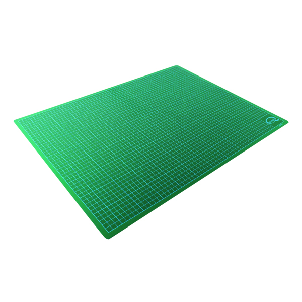 Q-Connect Cutting Mat Non-Slip A3 Green