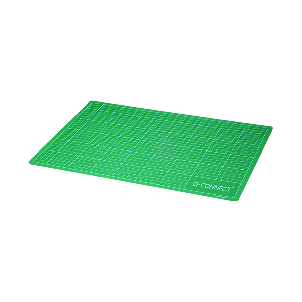 Q-Connect Cutting Mat Non-Slip A2 Green