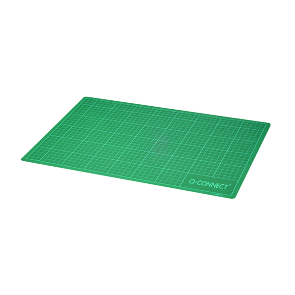 Q-Connect Cutting Mat Non-Slip A1 Green
