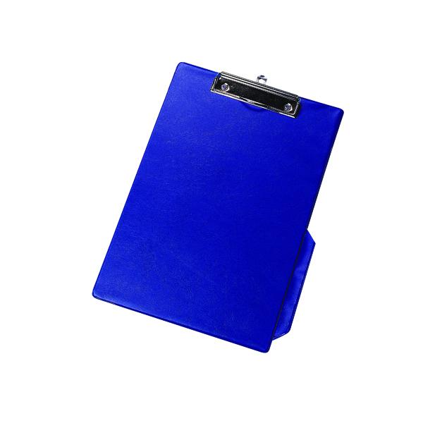 Q-Connect PVC Single Clipboard Foolscap Blue