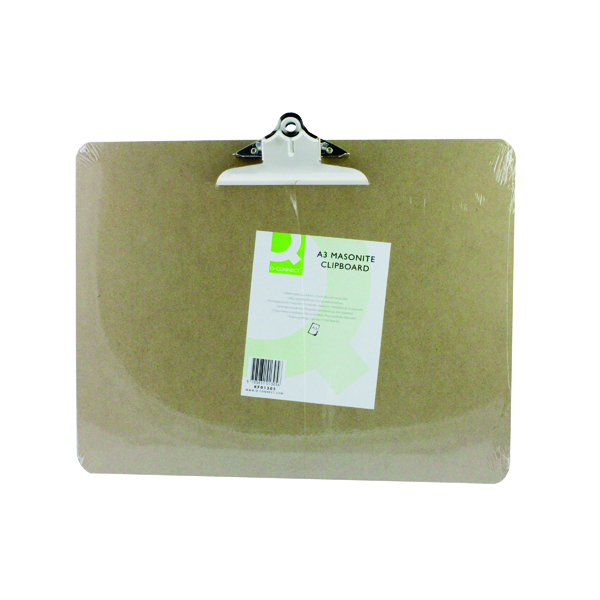 Image for Q-Connect Masonite Clipboard A3 KF01305