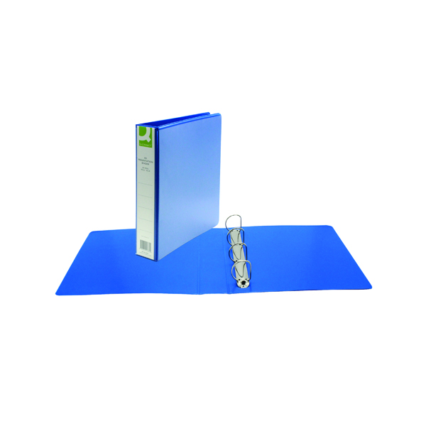 Q-Connect Presentation 40mm 4D Ring Binder A4 Blue