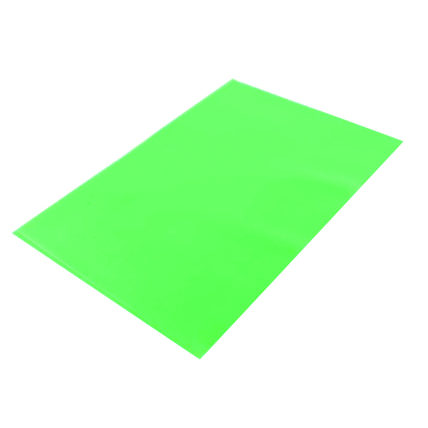 Q-Connect Cut FlushFolder A4 Green (Pack of 100) KF01488