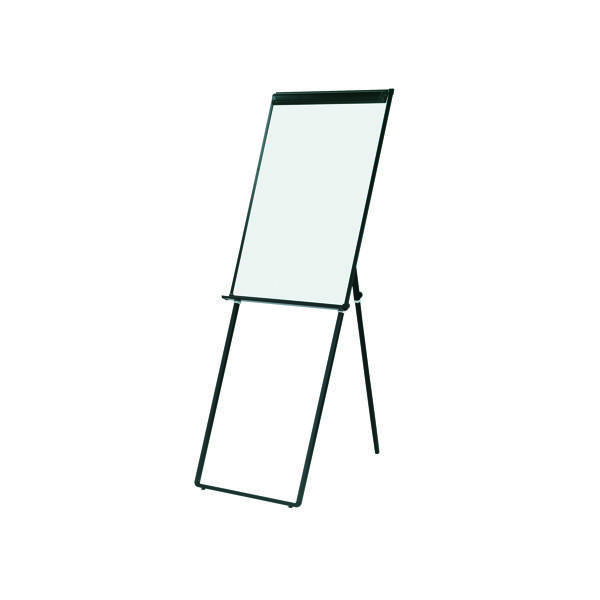 Q-Connect Deluxe Magnetic Flipchart Easel (Height adjustable to suit you)