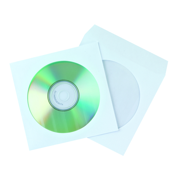 Q-Connect CD Envelope Paper (Pack of 50) KF02206