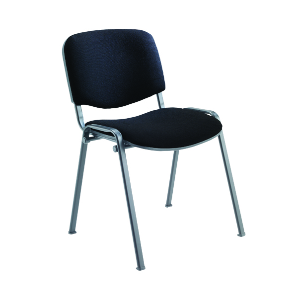 Jemini Ultra Multi Purpose Stacking Chair Charcoal/Black