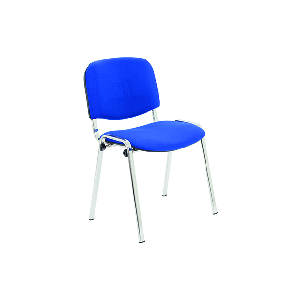 Jemini Ultra Multi Purpose Stacking Chair Chrome/Blue