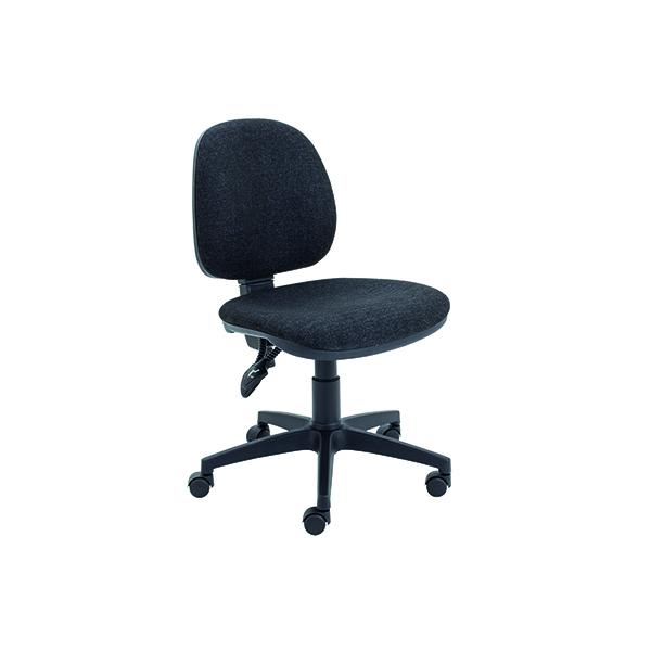 Arista Concept Medium Back Permanent Contact Operator Charcoal Chair