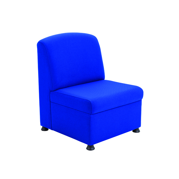 Arista Blue Modular Reception Chair