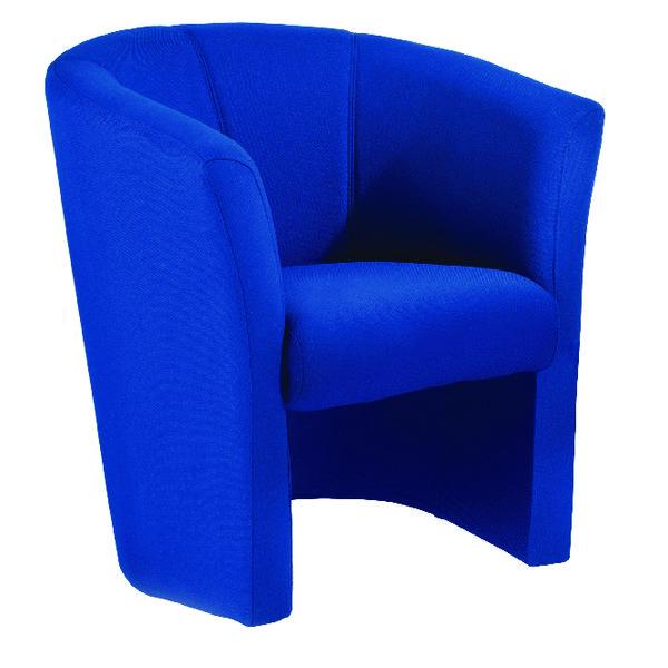 Arista Blue Tub Chair Fabric KF03521
