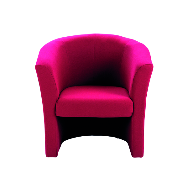 Arista Claret Tub Chair Fabric
