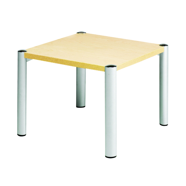 Avior Beech 635x635x460mm Square Table