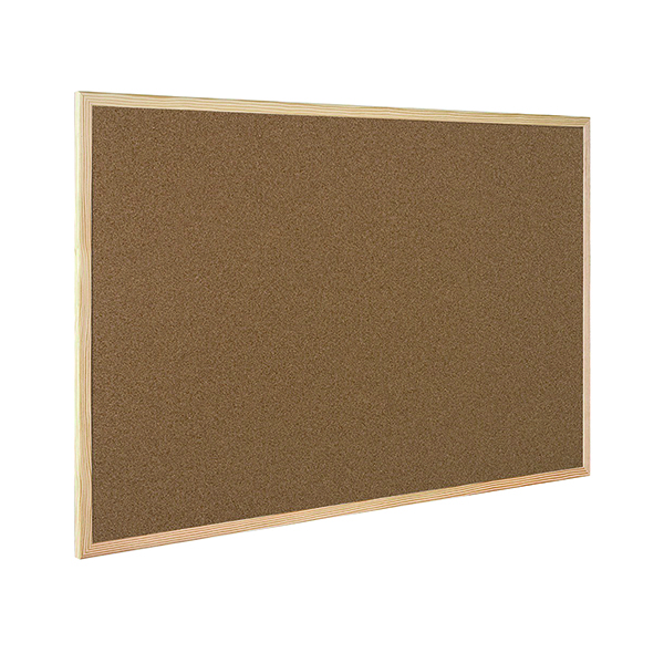 Q-Connect Lightweight Cork Noticeboard 900x1200mm