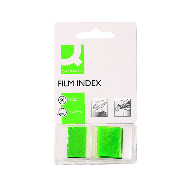 Q-Connect Page Marker Green (Pack of 50) KF03635