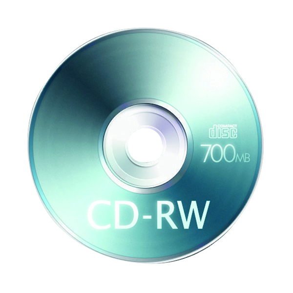 Q-Connect CD-RW Slimline Jewel Case 80Mins 700MB