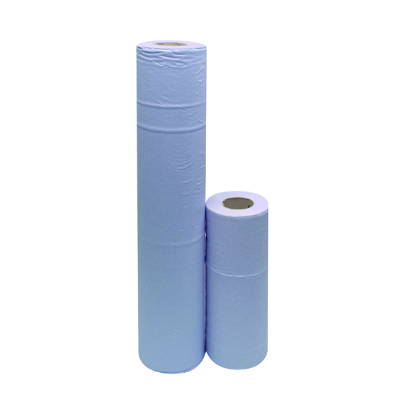 2Work 2-Ply Hygiene Roll 10 Inch Blue (Pack of 24) F03806