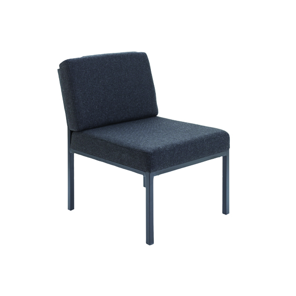 Jemini Charcoal Reception Chair