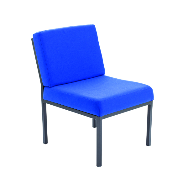 Jemini Blue Reception Chair (Seat Dimensions: W530 x D550mm)