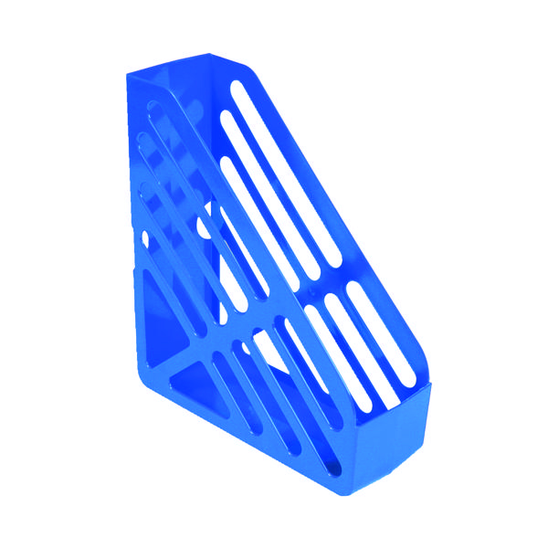 Q-Connect Magazine Rack Blue CP073KFBLU