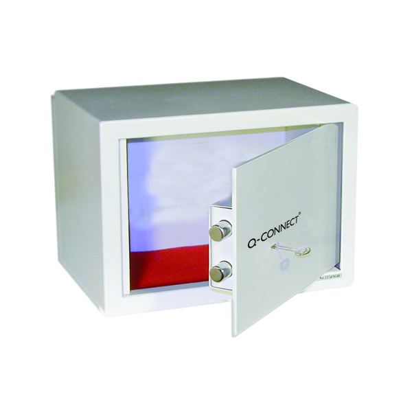 Q-Connect Key-Operated Safe 10 Litre 200x310x200