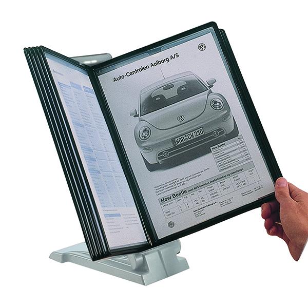 Q-Connect Quick Load Desk Top Unit Light Grey