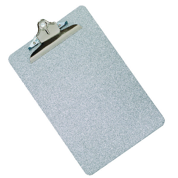 Image for Q-Connect Metal Clipboard Foolscap Grey (All metal construction for durability) KF05595