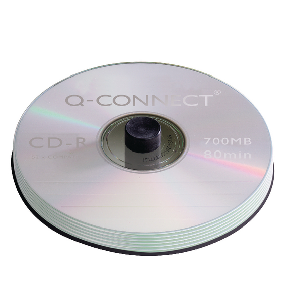 Q-Connect CD-R Spindle 80min 52x 700MB (Pack of 100)