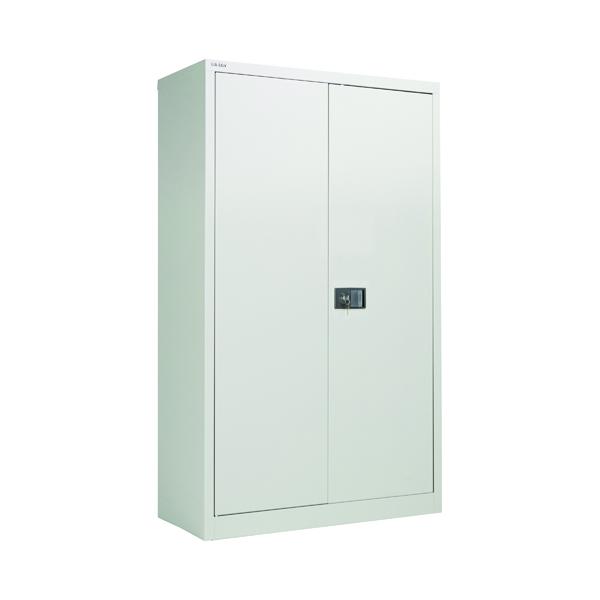 Jemini 2 Door 1806mm Storage Cupboard Grey