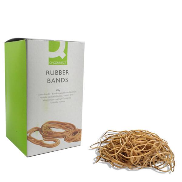 Q-Connect Rubber Bands No.64 88.9 x 6.3mm 500g