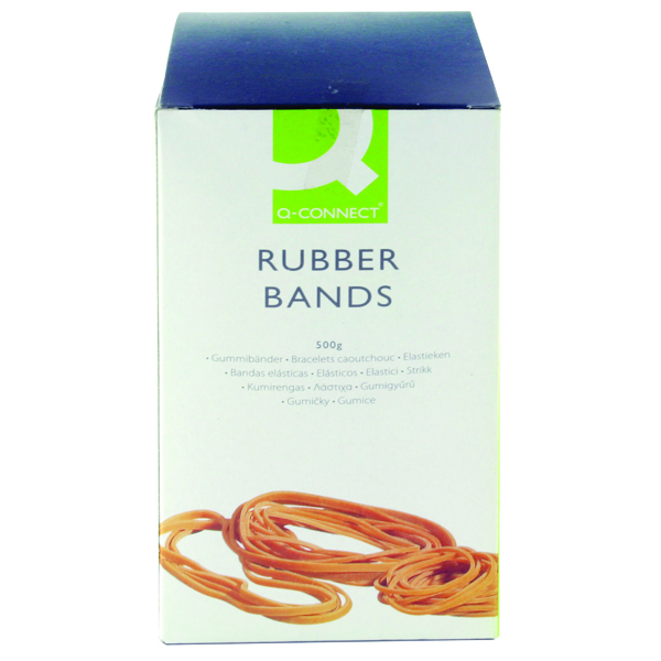 Q-Connect Rubber Bands Assorted Sizes 500g KF10577