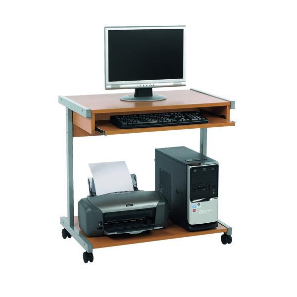 Image for Serrion Beech 800mm Mobile Computer Workstation KF14111