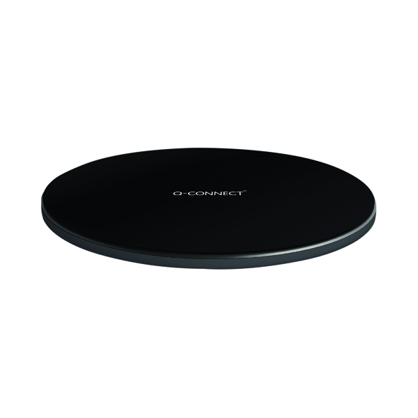 Q-Connect Wireless Phone Charge Pad Black