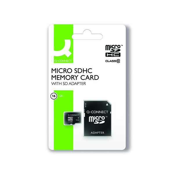 Q-Connect 16GB Micro SD Card Class 10 KF16012