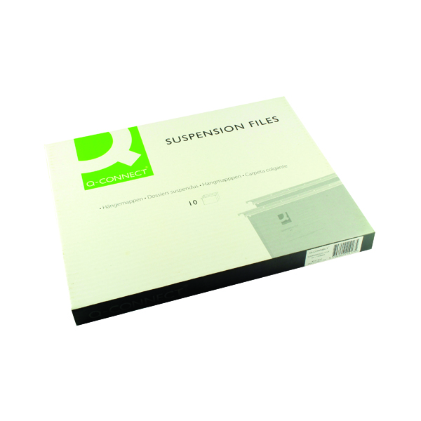 Q-Connect A4 Tabbed Suspension Files (Pack of 10) KF21017