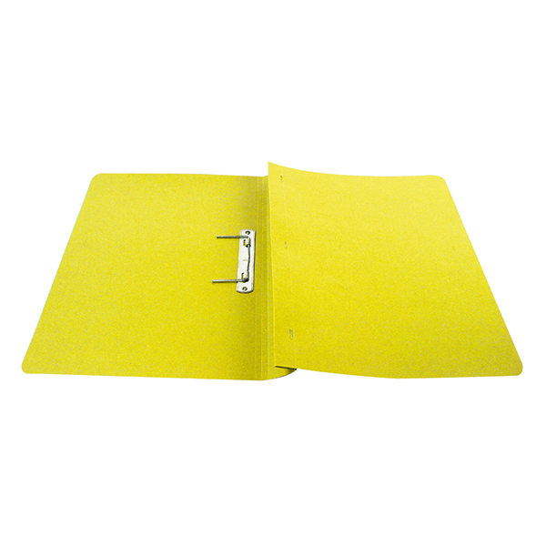 Q-Connect Transfer File 35mm Capacity Foolscap Yellow (Pack of 25) KF26057
