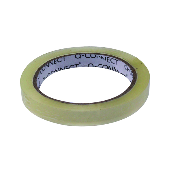 Q-Connect Easy Tear 12mmx66m Polypropylene Tape KF27015X