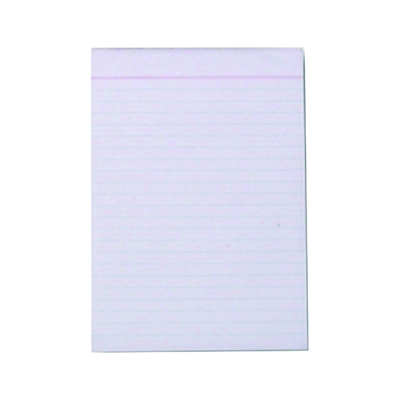 Q-Connect Ruled Scribble Pad 160 Pages 203x127mm (Pack of 20) C60FW