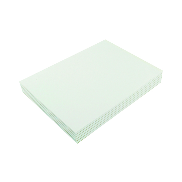 Q-Connect Plain Board Back Memo Pad 160 Pages A4 (Pack of 10) KF32007
