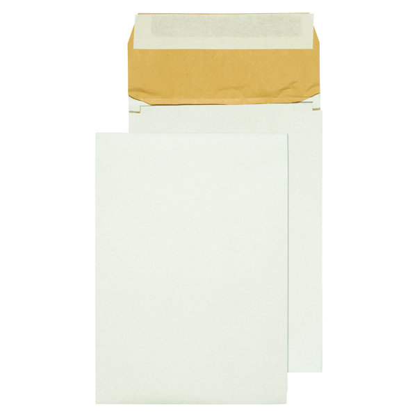 Q-Connect Padded Gusset Envelopes B4 353x250x50mm Peel and Seal White (Pack of 100)