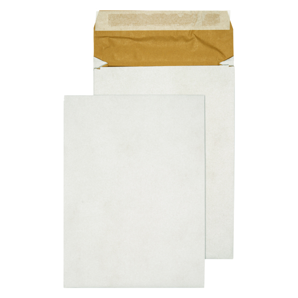 Q-Connect Padded Gusset Envelopes E4 400x280x50mm Peel and Seal White (Pack of 100) KF3533