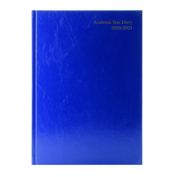 Academic Diary Week to View A4 Blue 2020-21 KF3A4ABU21