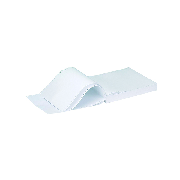 Q-Connect 11x9.5 Inches 3-Part NCR Plain Listing Paper (Pack of 700) C3NPP