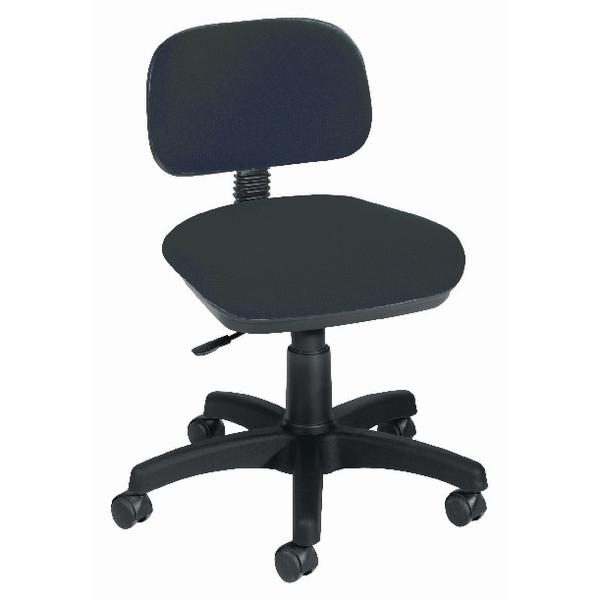Jemini Gas Lift Typist Chair Charcoal