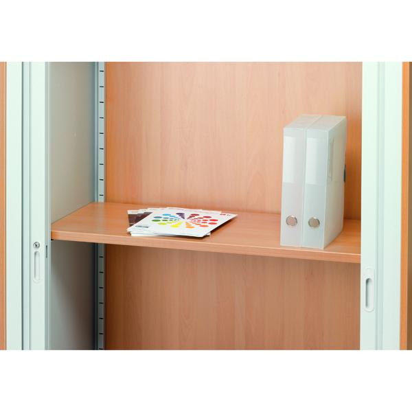 Jemini Adjustable Wood Shelf Beech TKWSBE