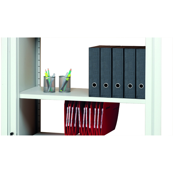 Image for Arista White Combi Shelf (Fits to Arista Tambour Cupboards) KF72138