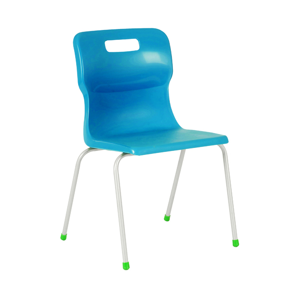 Titan 4 Leg Chair 460mm Blue KF72195