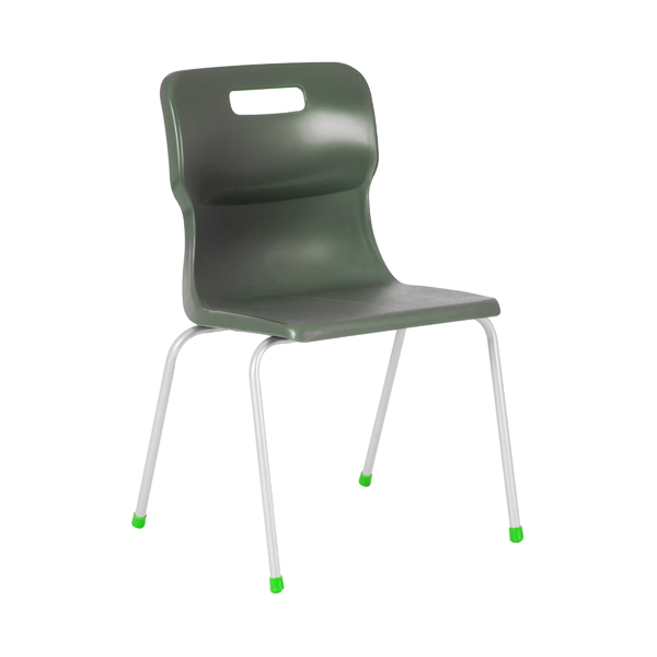 Titan 4 Leg Chair 460mm Charcoal